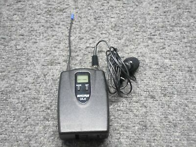 Shure Model ULX1-G3 Wireless Transmitter Lapel Microphone 470 MHz *Tested*