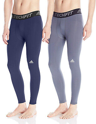 Adidas Men's Techfit Base Long Tights, Color Options
