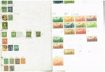24-Pages China F-Vf Used    (By20
