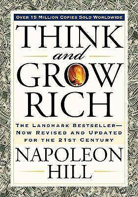 Think And Grow Rich By Napoleon Hill (Paperback)