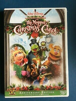 Muppet Christmas Carol.The Muppet Christmas Carol New Family Movie Dvd Anniversary Edition
