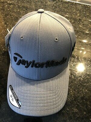 TaylorMade Golf Hat M1 PSI Tour Radar Gray Herringbone One Size Adjustable af2ce49b438e