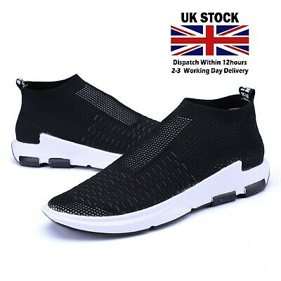 Mens Trainers sales Lightweight Running sport summer Shoes Outdoor Casual Black