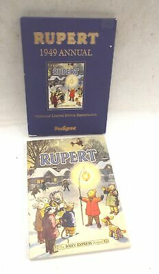 RUPERT 1949 ANNUAL Collector's Limited Edition Reproduction From Pedigree - C10