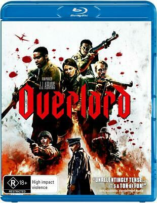 OVERLORD (2018): Action, Adventure, Horror, D-Day, J.J. Abrams - Au RgB BLU-RAY