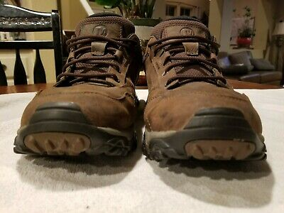 34755eb3673 Merrell Moab Adventure Men s Brown Leather Lace Up Hiking Shoes US 13 m    used