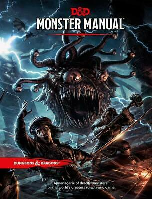 Dungeons & Dragons Monster Manual 5th LAST Edition Instant Delivery (PDF)