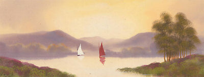 Fred Stafford (fl.1890-1910) - Late 19th Century Gouache, Two Sailing Boats