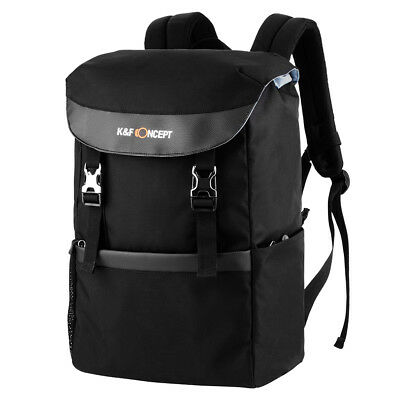 K&F Concept DSLR SLR Camera Backpack Bag Case Waterproof for Canon Nikon Laptop
