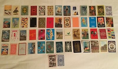 Collection of 52 Vintage & modern various Single Swap Playing Cards + 2 Jokers