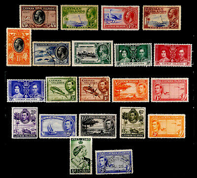 Cayman Island, British: Classic Era Stamp Collection With Never Hinged