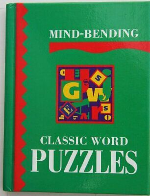 Mind-Bending Classic Word Puzzles (Mind Bending Puzzle Books), , Used; Very Good