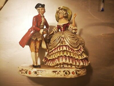 couple porcelaine Made in GDR 1859