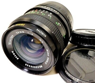 Vivitar 28mm f2.0 Manual Focus LENS Sony And mount cameras ILCE a6000 a6300 NEX