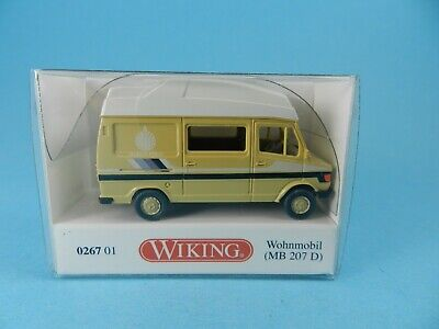 0267 01-1//87 Wiking Mercedes 207 D Westfalia Camper Marco Polo