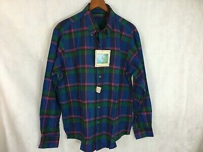 Men's Claybrooke Outdoors Flannel; Large; New With Tags