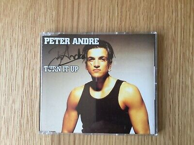 Peter Andre hand signed CD