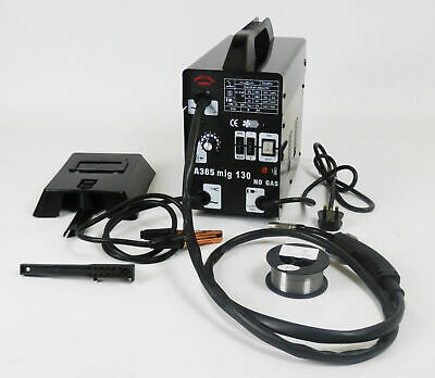 Gasless Mig Welder 130 New No Gas 120A amps More Expensive Non Live Torch DProT