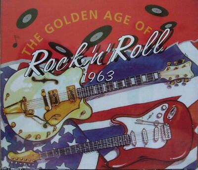 The Golden Age of Rock 'n' Roll, 1963, Various Artists CD , Acceptable, FREE & F