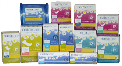 Natracare, Organic & Natural ultra pads