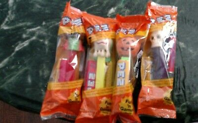 NEW 4 Vintage Hall-O-Ween Pez Dispensers   Lot 51