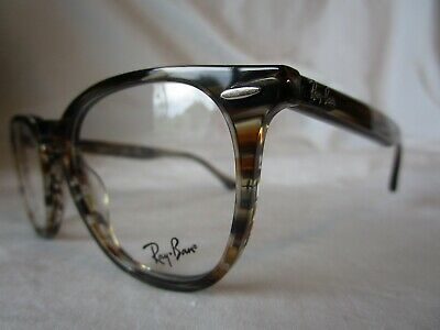 312cdee19e Ray Ban Eyeglass Frame Rx7159 5749 Brown Grey Striped 50-20-145 New