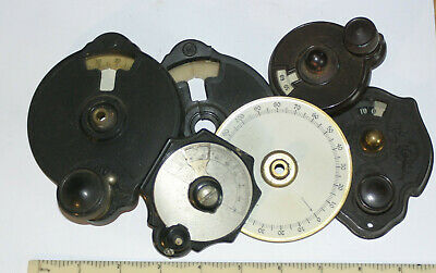 Job Lot Of Vintage Wireless Tuning Dials