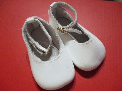 LEDER PUPPEN SCHUHE Italy f gr Puppe bambola scarpe di cuoio Puppenkleidung L9,5