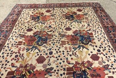LOT #241 COLLECTORS FINE AS A TEXTILE  SOUTH TRIBAL RUG BEAUTY , 6'4x4'0, 1900's