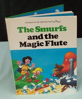 The Smurfs and the Magic Flute Annual Book  c 1979