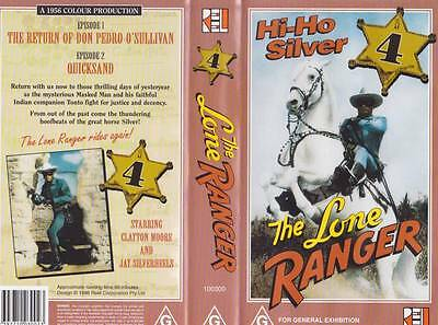The Lone Ranger Vhs Pal Video  A Rare Find
