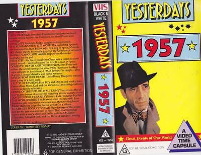 Yesterdays  1957 Vhs Video Pal~ Very  Rare Find~