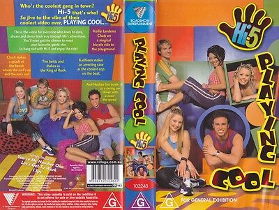 Hi 5 Playing Cool  Vhs Video Pal~ A Rare Find In Excellent Condition