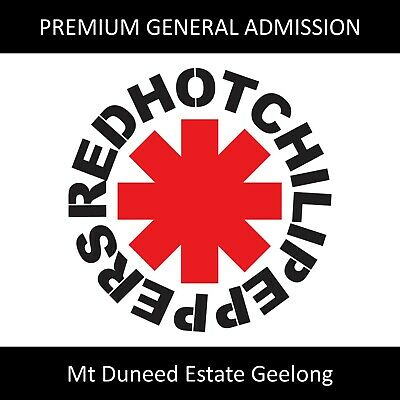 Red Hot Chili Peppers Tickets | Day On The Green Mt Duneed | Premium GA