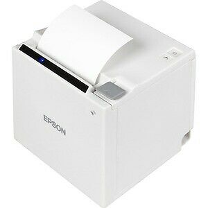 EPSON TM-M30 with Built-in USB, Ethernet Receipt Printer (Power Supply and cable