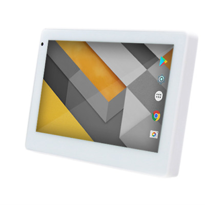 """Arkin TOUCH 7"""" POE UNIVERSAL TOUCH SCREEN WTH WALL MOUNT WHITE"""