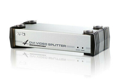 ATEN 4 Port DVI Video Splitter w/ Audio - 1920x1200@60Hz