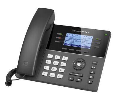 Grandstream Networks GXP1760 Wired handset 6lines LCD Black IP phone