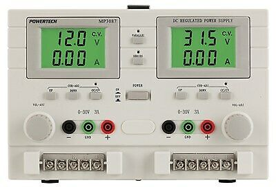 Generic 0 to 32VDC Dual Output, Dual Tracking Laboratory Power Supply