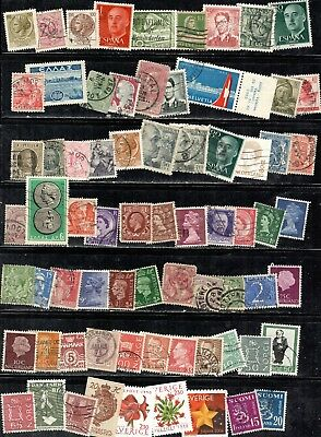 EUROPE 71 different stamps
