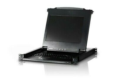 """ATEN Slideaway Ps2 17"""" Lcd Console Cl-1000ma"""