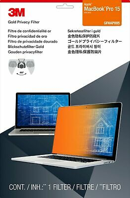 "3M Gold Privacy Filter for 15"" Apple® MacBook Pro® with Retina® Display"