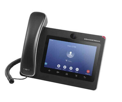 Grandstream Networks GXV3370 IP phone Black Wired handset LCD 16 lines Wi-Fi