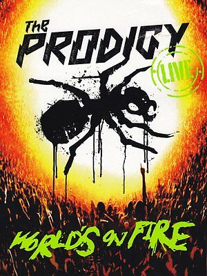 The Prodigy-Live World's On Fire (CD & DVD Ltd Edition Digipack) CD CD+DVD, Live