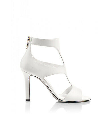 4768e10ab1d Tamara Mellon Cream Party Cut-Out Sandal Booties 90MM Heels  795