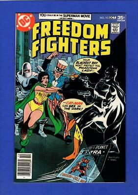 Freedom Fighters #10 Nm 9.4/9.6 High Grade Bronze Age Dc