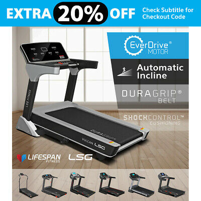 NEW LSG Fitness Treadmills Home Gym Exercise EverDrive Electric Motor