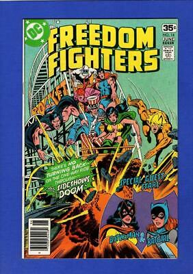 Freedom Fighters #14 Nm 9.4/9.6 High Grade Bronze Age Dc