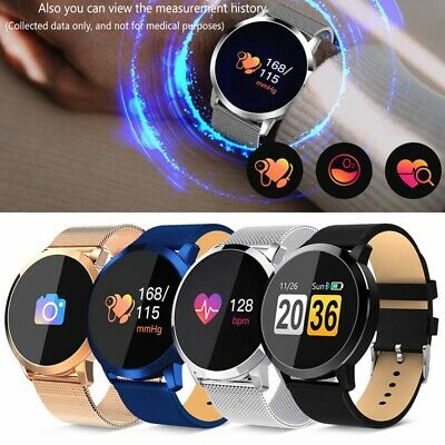 "Q8 Smart Watch Sports 1.2"" Blood Pressure Heart Rate Monitor Fitness Tracker"