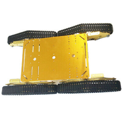 4-Drive Robot Tank Crawler Chassis Arduino Smart Car Education Competition